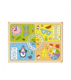 Обучающая доска времена года Мастер игрушек Р87509
