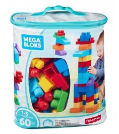 Mega Bloks мой первый конструктор 60 деталей синий DCH55