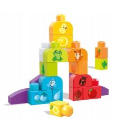 Mega Bloks базовый набор строй и учись изучаем цвета DXH33