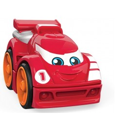 Mega Bloks гоночная машинка красная FLT33