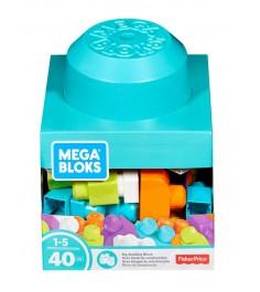 Mega Bloks блоки для развития воображения 40 деталей FRX19