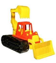 Трактор байкал с грейдером и ковшом Нордпласт 139