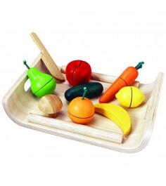 Игровой набор Plan Toys Фрукты и овощи 3416