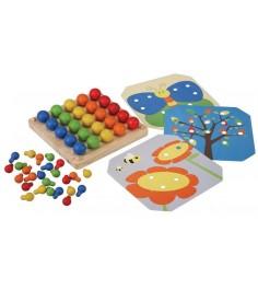 Деревянная игрушка Plan Toys Мозаика 5162