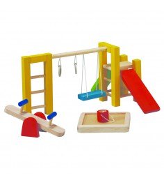 Спортивная площадка Plan Toys для кукольного домика 7153