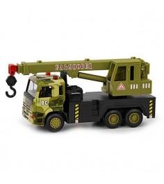 Металлическая машина ульяновец грузовик с краном 1:54 Play Smart А74810