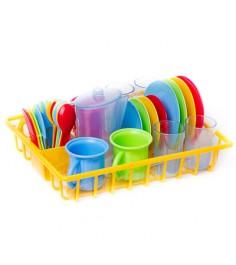 Игровой набор Playgo сушка с посудой 30 предметов Play 3118