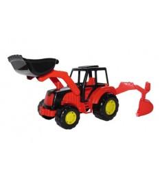 Трактор мастер экскаватор Полесье 35318