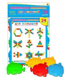 Напольная мозаика для малышей 24 детали Рыжий кот м-5132