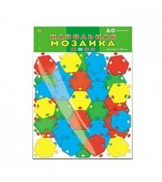 Напольная мозаика мини 60 деталей в пакете Рыжий кот м-0524
