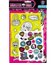 Monster High Набор наклеек розовая Росмэн 21094