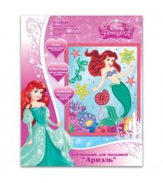 Аппликация ариэль disney принцессы Росмэн 23866