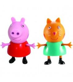 Игровой набор пеппа и ее друзья пеппа и кенди Росмэн 28818