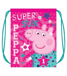 Мешок для обуви Свинка Пеппа Superstar Росмэн 30285