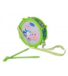 Интерактивная игрушка барабан пеппы свет Росмэн 30568
