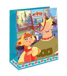 Пакет подарочный Любава 230*180*100 Три богатыря Росмэн 30987