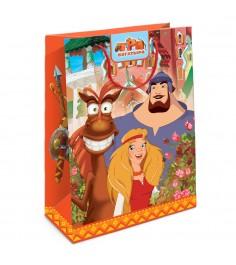 Пакет подарочный Три богатыря 350*250*90 Росмэн 30990