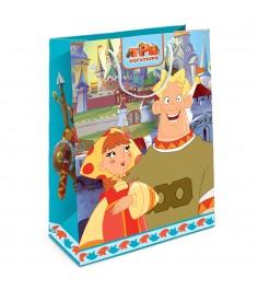 Пакет подарочный Любава 350*250*90 Три богатыря Росмэн 30991