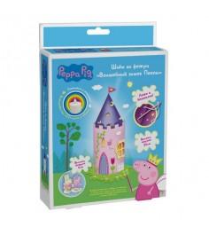 Набор для шитья из фетра свинка пеппа волшебный замок пеппы свет Росмэн 31387