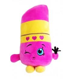 Мягкая игрушка шопкинс помадка липпи 20 см Росмэн 31635