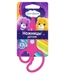Ножницы пластиковые дошкольные заботливые мишки Росмэн 31723