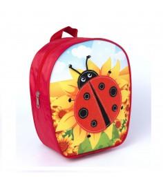 Дошкольный рюкзак божья коровка малый Росмэн 32003