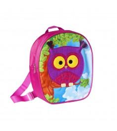 Дошкольный рюкзак сова малый Росмэн 32013