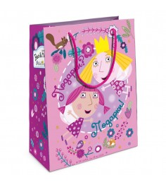 Пакет подарочный Холли фея Бен и Холли 230х180х100 Росмэн 32191