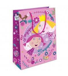 Пакет подарочный Холли фея Бен и Холли 350*250*90 Росмэн 32193