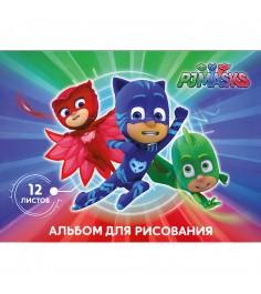 Альбом для рисования герои в масках 12 листов Росмэн 32762