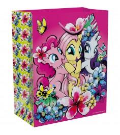 Пакет подарочный my little pony 18х10х23 см подарочные пакеты Росмэн 33164