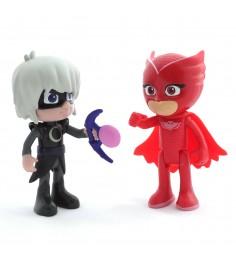 Игровой набор герои в масках алетт и лунная девочка свет Росмэн 33287