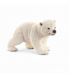 Фигурка Schleich Wild Life Белый медвежонок длина 6.6 см 14708