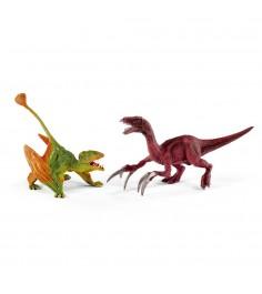 Набор фигурок Динозавры Диморфодон и Теризинозавр 41425