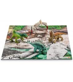 Набор Schleich Динозавры Лавовые поля 42213