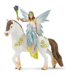 Фигурка Schleich эльфийки Эйла на лошади 15 см 70516
