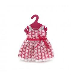 Одежда для кукол платье с гипюром розовое Shantou Gepai GCM18-9