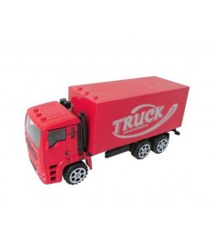Инерционный грузовик красный Shantou Gepai GS1304