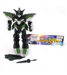 Робот с оружием super fighter свет Shantou Gepai 2013A