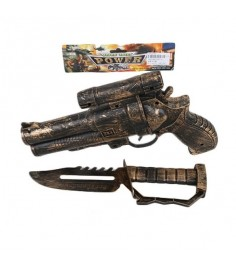 Набор детского оружия пиратский пистолет и кинжал Shantou Gepai 329-5