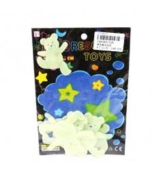 Набор флуоресцентных фигурок светлячки медведи Shantou Gepai 3326