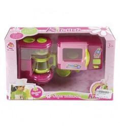 Игровой набор kitchen кофеварка и микроволновка Shantou Gepai 334B