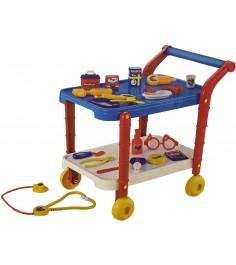 Игровой набор доктора medical с тележкой Shantou Gepai 36778-23