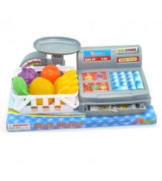 Игровой набор касса с весами и аксессуарами Shantou Gepai 383-037