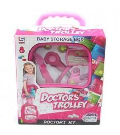 Игровой набор doctor trolley 5 предметов Shantou Gepai 5679