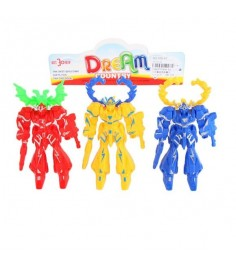 Набор из 3 фигурок роботов dream country Shantou Gepai 609-A3