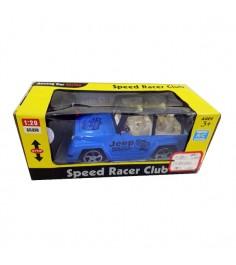 Машина р/у speed racer club джип на батарейках 1:20 Shantou Gepai 635419
