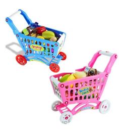 Тележка для покупок shopping cart с продуктами Shantou Gepai 661-78