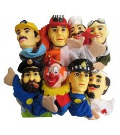Кук театр профессии 8 кукол Shantou Gepai 68390(П)