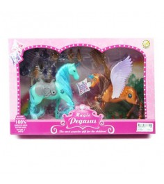 Игровой набор из 2 лошадок magic pegasus Shantou Gepai 7712-1